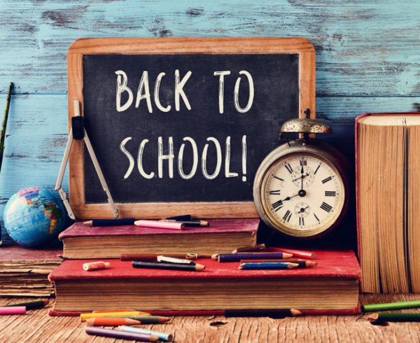 Tips for an Organized and Low-Stress School Year